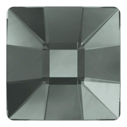 Swarovski Mosiac Square Flatback #2483 - Black Diamond - 25mm