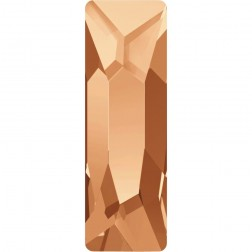 Swarovski Cosmic Baguette Flatback #2555 - Copper - 15x5mm