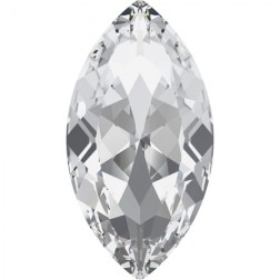 Swarovski Large Navette Fancy Stone #4227 - Crystal 32x17mm
