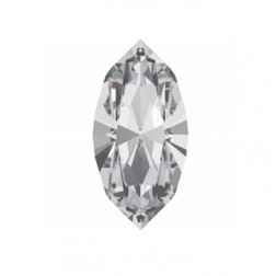 Swarovski Navette Fancy Stone #4228 - Crystal 15x7mm