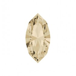 Swarovski Navette Fancy Stone #4228 - Lt Silk 15x7mm