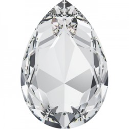 Swarovski Large Pear Fancy Stone #4327 - Crystal 30x20mm