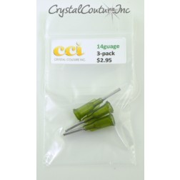 Luer 14g Loc Tips 3-Pack