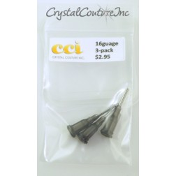 Luer 16g Loc Tips 3-Pack