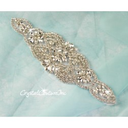 Crystal Pear/Navette Rhinestone Applique #2