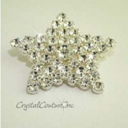 Crystal Rhinestone Star Shape Embellishment