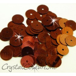 Bronze Metallic 8mm Sequin