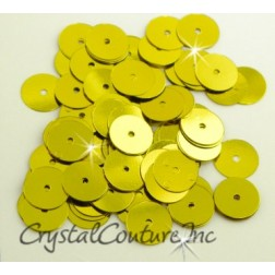 Chartreuse Metallic 8mm Sequin