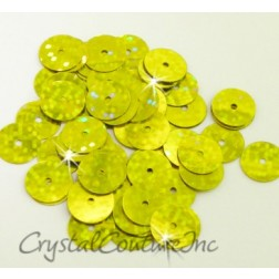 Chartreuse Zodiac 8mm Sequin