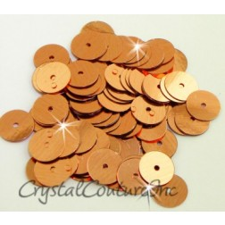 Copper Metallic 8mm Sequin