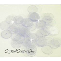Crystal Clear 8mm Sequin