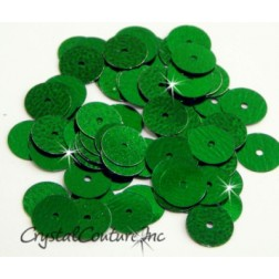 Green Metallic 8mm Sequin