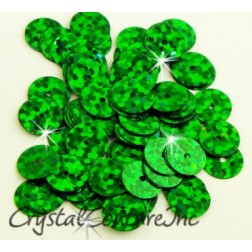 Green Zodiac 8mm Sequin