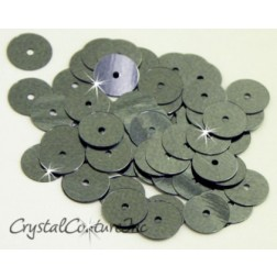 Gunmetal Metallic 8mm Sequin