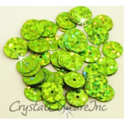 Lime Green Zodiac 8mm Sequin