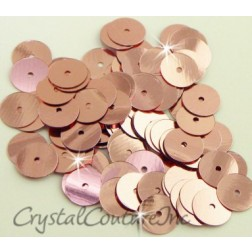 Light Pink Metallic 8mm Sequin