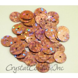 Light Pink Zodiac 8mm Sequin