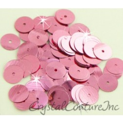 Pink Metallic 8mm Sequin