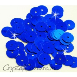 Royal Blue Metallic 8mm Sequin