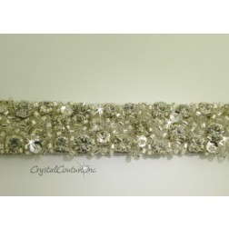 Swarovski Crystal Rhinestone Beaded Trim